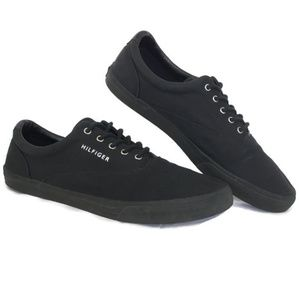 Tommy Hilfiger Sneakers Men's 12 M Black Lace Up